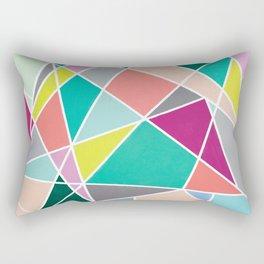 Geometric Spotlights Rectangular Pillow