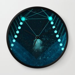 Mystic Space Wall Clock