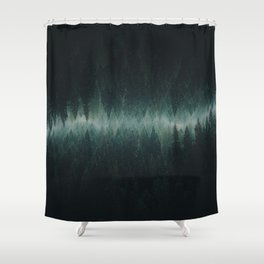 Forest Reflections Shower Curtain