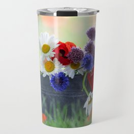 Flower potpourie from the cottage garden Travel Mug