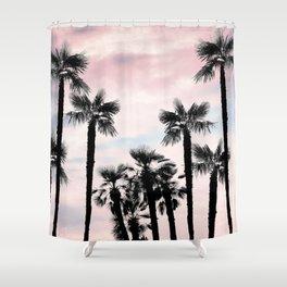 Tropical Palm Trees Dream #1 #tropic #decor #art #society6 Shower Curtain