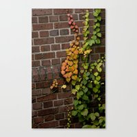 climbing Canvas Prints featuring Climbing by C. Wie Design
