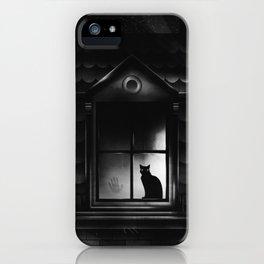 Neighbor's Cat Has A Secret iPhone Case