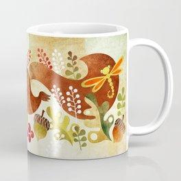 Playful Squirrel Coffee Mug