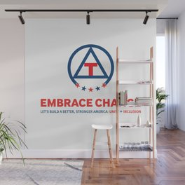 Embrace Change: Unity + Inclusion Wall Mural