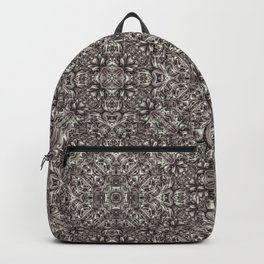 Luxury Modern Baroque Pattern Backpack