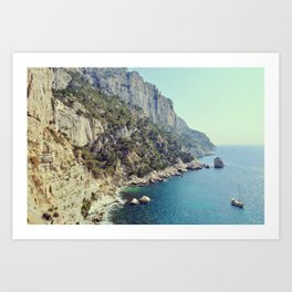 Calanques de Marseille, beauty in the french blue coast - Fine Arts Travel Photography Art Print