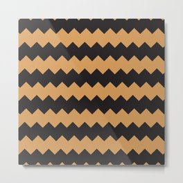 African culture fabric design Metal Print