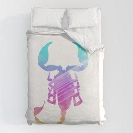 Neonimals: Scorpion Duvet Cover