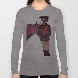 Abstract Dressage Long Sleeve T-shirt