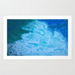 Sacred Blu Art Print