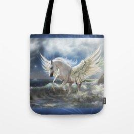 Pegasus Rising Tote Bag