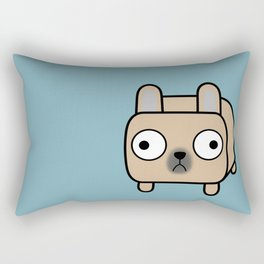 French Bulldog Loaf - Fawn Frenchie Rectangular Pillow