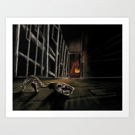 1, 2 ...Freddy's coming for you Art Print