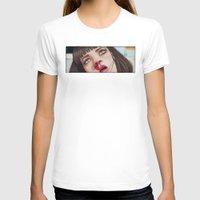 mia wallace T-shirts featuring Mia Wallace by Tariana B.