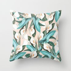 Floral Porn #society6 #lifestyle #buyart Throw Pillow