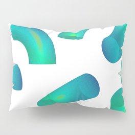 Macaroni: Green and Blue Pillow Sham