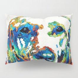 Labrador Retriever Art - Play With Me - By Sharon Cummings Pillow Sham