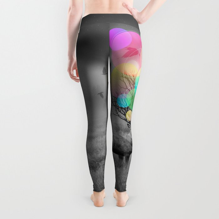 Calm Within the Chaos Leggings