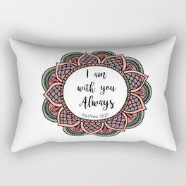 Matthew 28:20 Rectangular Pillow
