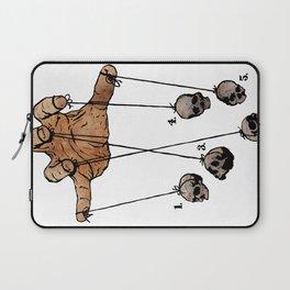 The Five Dancing Skulls Of Doom Laptop Sleeve