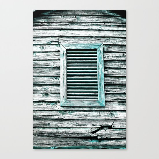 Single Window Canvas Print