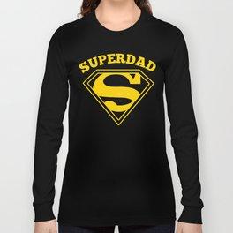 Superdad | Superhero Dad Gift Long Sleeve T-shirt
