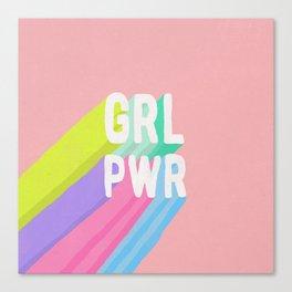 GRL PWR (II) Canvas Print
