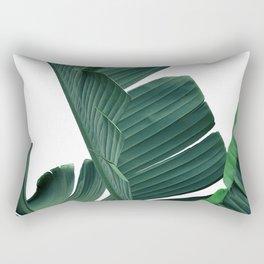 Tropical Leaf Print, Botanical Wall Art Print, Banana Leaf Print ,Tropical Decor Rectangular Pillow