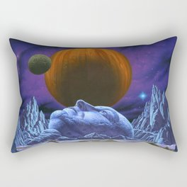 Time is the simplest thing Rectangular Pillow
