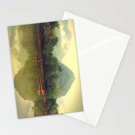 Laos River Stationery Cards