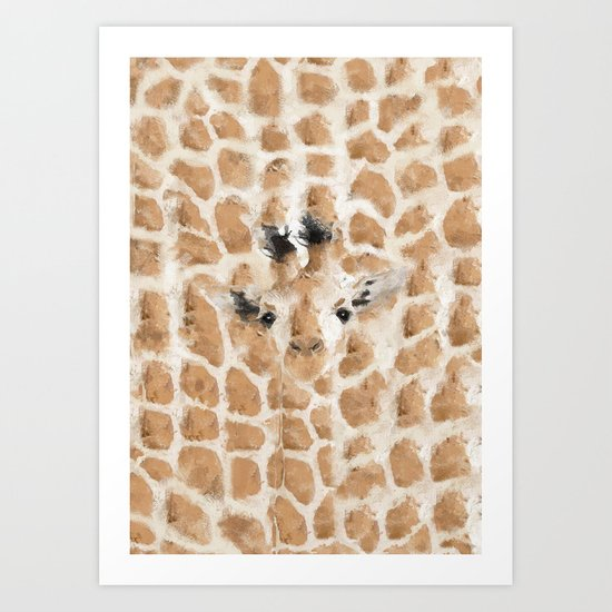 don't look for me i'm not there Art Print