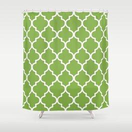 New Pantone, Greenery 2 Shower Curtain