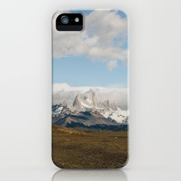 Iconic Towers of Patagonia iPhone Case