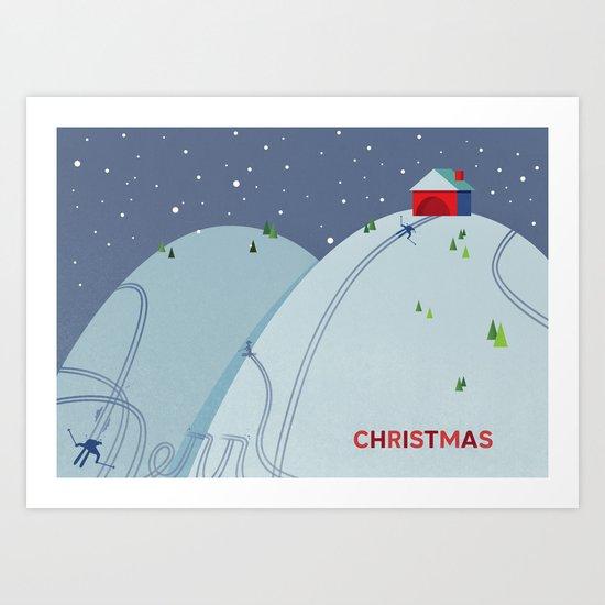 Holiday Hills Art Print