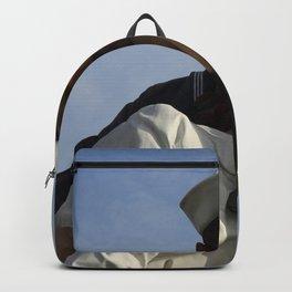 Kissing Sailor And Nurse Portrait Backpack