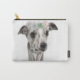 Florence the Whippet Carry-All Pouch