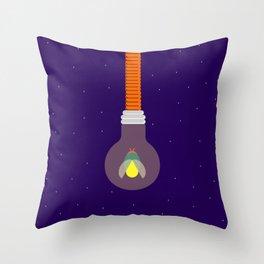 Firefly Bob Throw Pillow