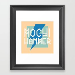 Mochi Hammer Framed Art Print