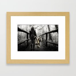 Is There Some Future Out There ... Framed Art Print