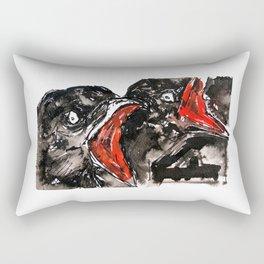 Crow Mouth Rectangular Pillow
