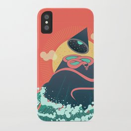 Snake On Crystal Mountain iPhone Case