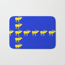Graphic Swedish Elk Flag III Bath Mat