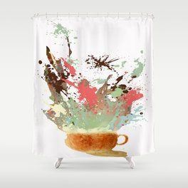 Morning Shot Shower Curtain