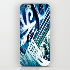 Deep Blue iPhone & iPod Skin