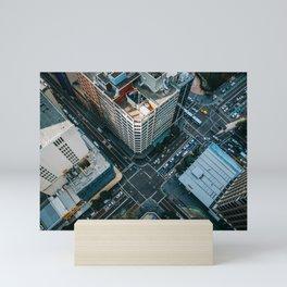 New York City Skyscaper View Mini Art Print