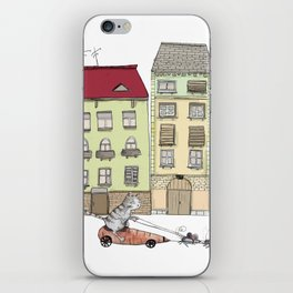 Budapest and the wandering cat iPhone Skin