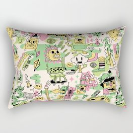 Memory Junk Rectangular Pillow