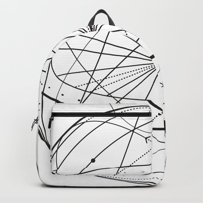 Alchemy Symbol With Eye Moon Sun Backpack By Tukkki Society6