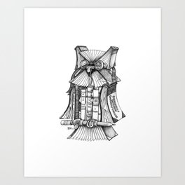 Check it out! Art Print